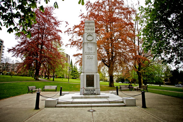 Remembrance Day | North Vancouver Cenotaph