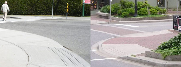 Corner Curb Bulges in the City of North Vancouver