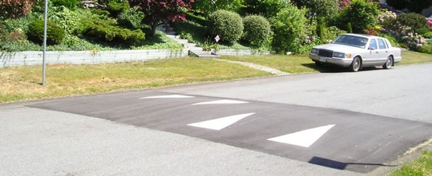 Speed Humps in the City of North Vancouver