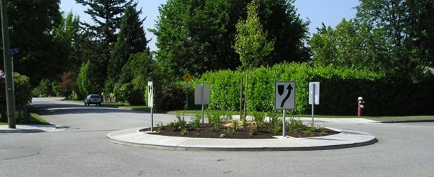 Traffic Circles in the City of North Vancouver